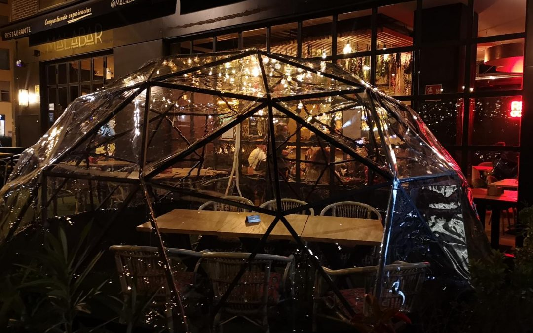 Iglú GS: la revolución para las terrazas de los restaurantes
